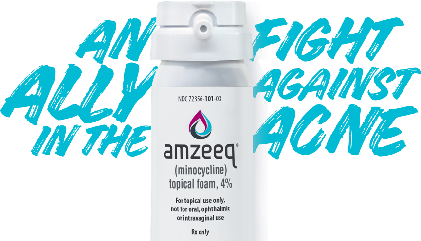 AMZEEQ™, an ally in the fight against acne